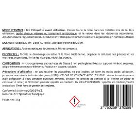 BIOMAX : activateur enzymatique pour micro-stations