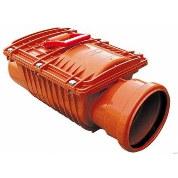 Clapet anti-retour diamètre 125 anti-reflux, protège des remontées d'odeurs, d'eau et de nuisibles